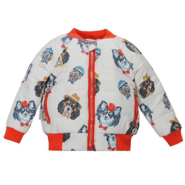 Куртка 22247 молочная