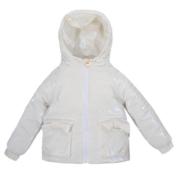 Куртка 22249 біла