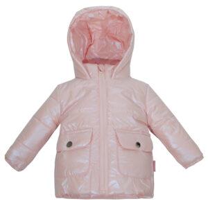 Куртка 22449 рожева