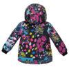 Куртка 22509 кольоровий принт 16805