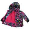 Куртка 22509 кольоровий принт 16814