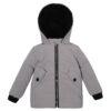 Куртка 22510 серая