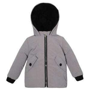 Куртка 22510 сіра