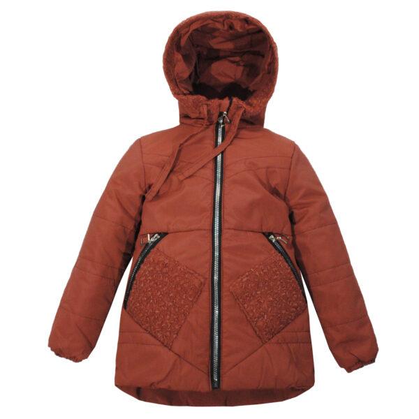 Куртка 22561 коричнева