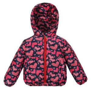Куртка 22565 сине-розовая