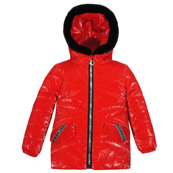 Куртка 22642 червона