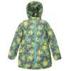 Куртка 22651 кольоровий принт