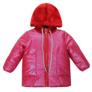 Куртка 22726 рожева