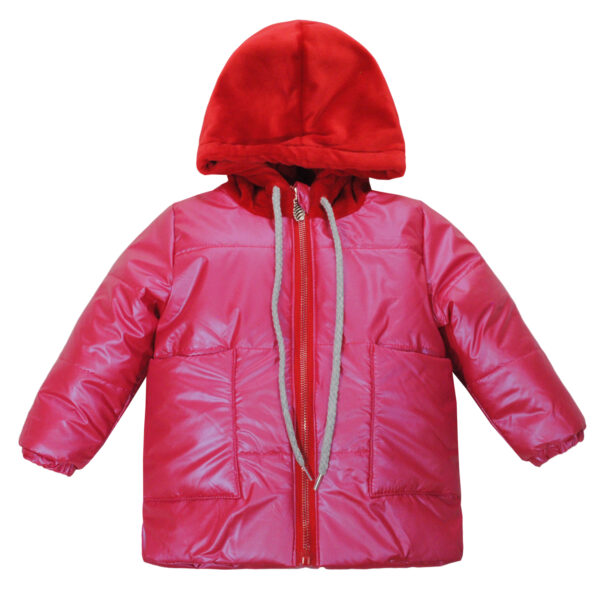 Куртка 22726 розовая