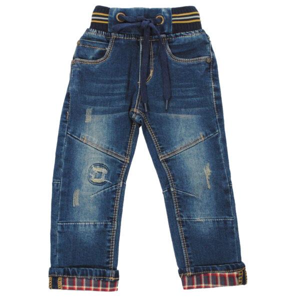 Джинсы 9183 синие