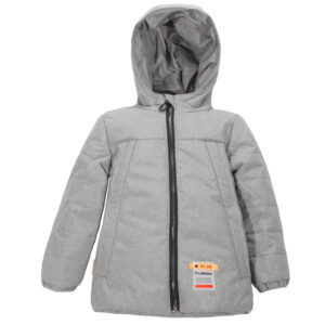 Куртка 22638 сіра