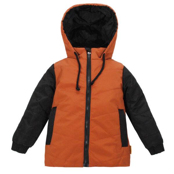 Куртка 22415 коричнево-черная